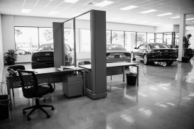 Showroom at Audi Shawnee Mission