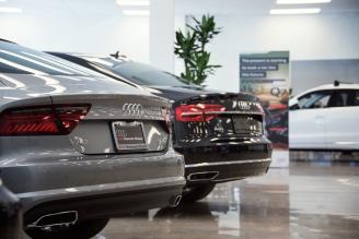 Showroom at Audi Shawnee Mission