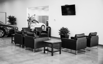 Customer Lounge at Audi Shawnee Mission