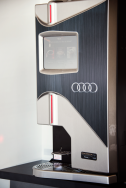 custom Audi coffee maker