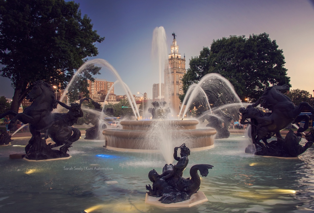 Fountain, Country Club Plaza, Kansas City